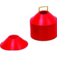 Markeringskon Låg Röd (Plast)