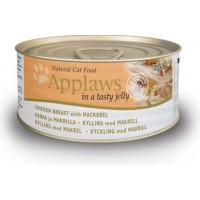 Applaws Cat Kyckling & Makrill i Gelé (70 gram)