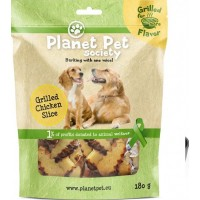 Planet Pet Society Dog Grilled Chicken Slice 180 g