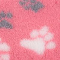 VetBed Non-Slip fäll tass rosa (L)
