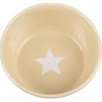 Basic Star skål beige (L)
