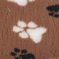 VetBed Non-Slip fäll tass brun (M)