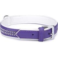 Sparkle Gemstone Halsband Lila