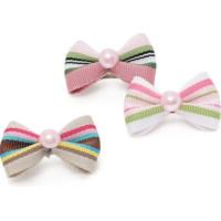 Stripy Pearl Hair Pin