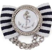 Marine Anchor Hair Pin