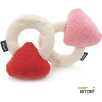 Jeweled Ring Cushion Toy Röd