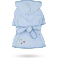Cherry Berry Spa Robe Blue - XS