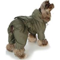 Military Rain Coat - Grön - XL