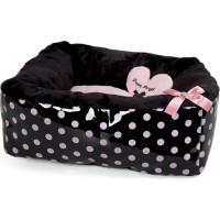 Polkadot Ease Bed - Pink