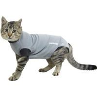 Buster Body Suit till katt, grå/svart