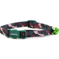 Katthalsband Ancol camouflage Grön