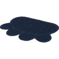 Mörkblåa tassmattan