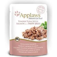 Kattfoder Applaws Påse Tuna+Salmon Gelé