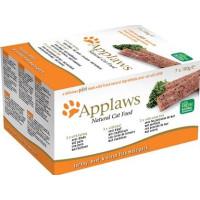 Applaws katt Paté Multimix Kalkon, Nötkött och Fisk