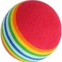 Kattleksak Regnbågsboll