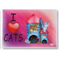 Matskåls underlägg katt Hus