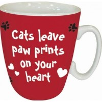TeMugg Cats leave paw prints